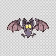 Simple Color Vinyl Dracula Vampire Bat Stickers Factory