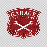 Vintage Garage Service Sign 15599