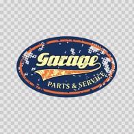 Vintage Garage Service Sign 15600