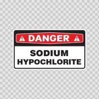 Danger Sodium Hypochlorite 18003