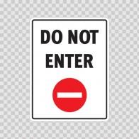 Do Not Enter  18663