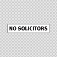 No Solicitors 18766