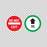 In - Do Not Exit 18778