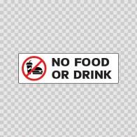 No Food Or Drink 18789