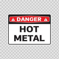 Danger Hot Metal 19388