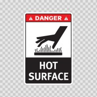 Danger Hot Surface 19399