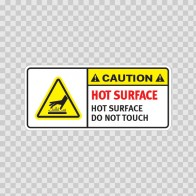 Caution Hot Surface. Do Not Touch. 19412