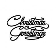 Sign Christmas Greetings 21060