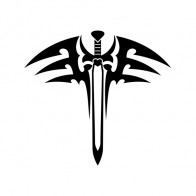Sword Weapon Tattoo Style 21486