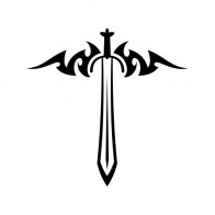 Sword Weapon Tattoo Style 21487