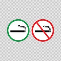 Smoking Area Non Smoking Area 21688
