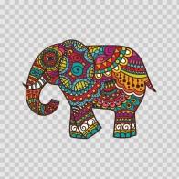Elephant High Detail Design Colorful Feng Shui 21959