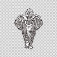 Patterned Elephant 22594