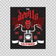 Speed Devil Motorcycle Easy Rider California 23097