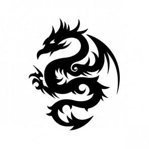 Tribal Dragon 00511