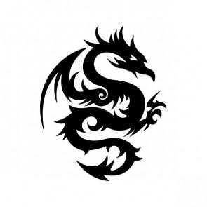 Tribal Dragon 00512