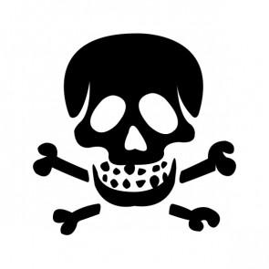 Crossbone Skull 00770