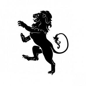 Heraldic Lion 00892