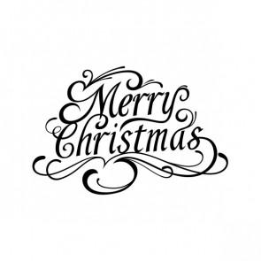 Merry Christmas Lettering 00978