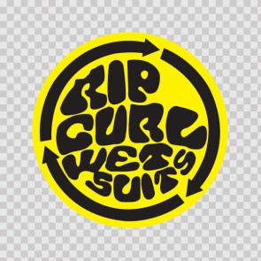 Rip Curl Wet Suits Logo 01293