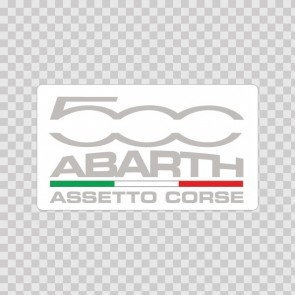 Fiat 500 Abarth Assetto Corse Logo 01509