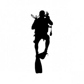 Scuba Diver 01802