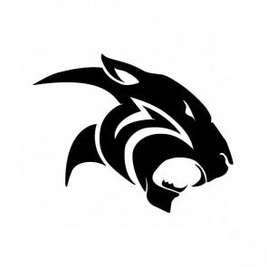 Black Panther Puma Head 01976