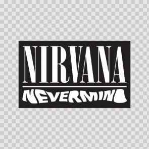 Nirvana Never Mind Logo 02078