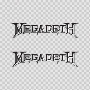 Megadeth Logo 02085