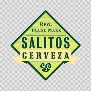 Beer Logo Salitos Cerveza 02208