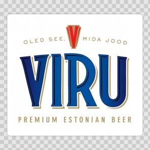 Beer Logo Viru 02223