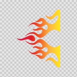 Flame Red Orange Yellow 02305