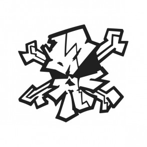 Graffiti Skull 02546