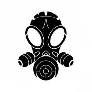Gas Mask Skull 02565