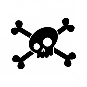 Crossbone Skull 02608