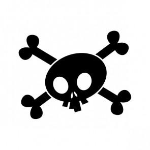 Crossbone Skull 02610