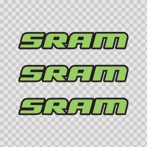 Sram Mountain Bike Logo 02937