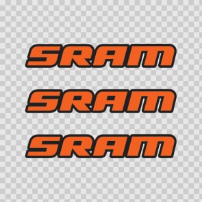 Sram Mountain Bike Logo 02938
