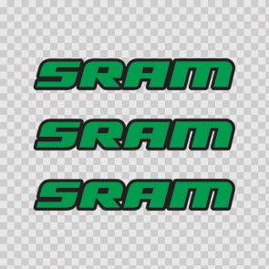 Sram Mountain Bike Logo 02939
