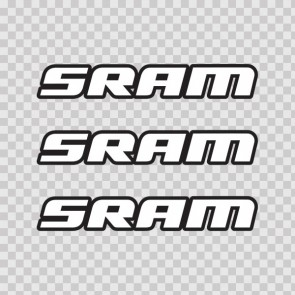 Sram Mountain Bike Logo 02942