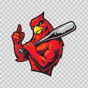 Baseball Cardinal 03081