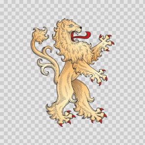 Lion Heraldic 03280