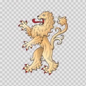 Lion Heraldic 03281