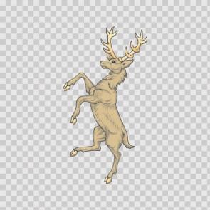 Deer Heraldic 03283