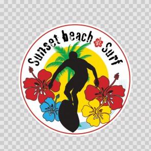 Sunset Beach Surf Souvenir Memorabilia 03358