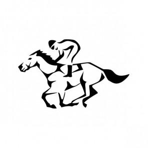 Horse Racing Jockey 03482