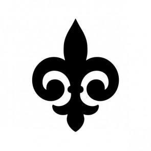 Fleur De Lis Logo Symbol 03602
