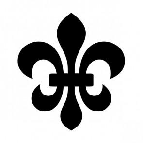 Fleur De Lis Logo Symbol 03603