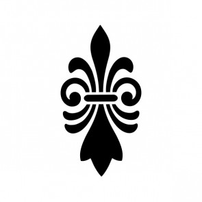 Fleur De Lis Logo Symbol 03606