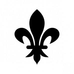 Fleur De Lis Logo Symbol 03608